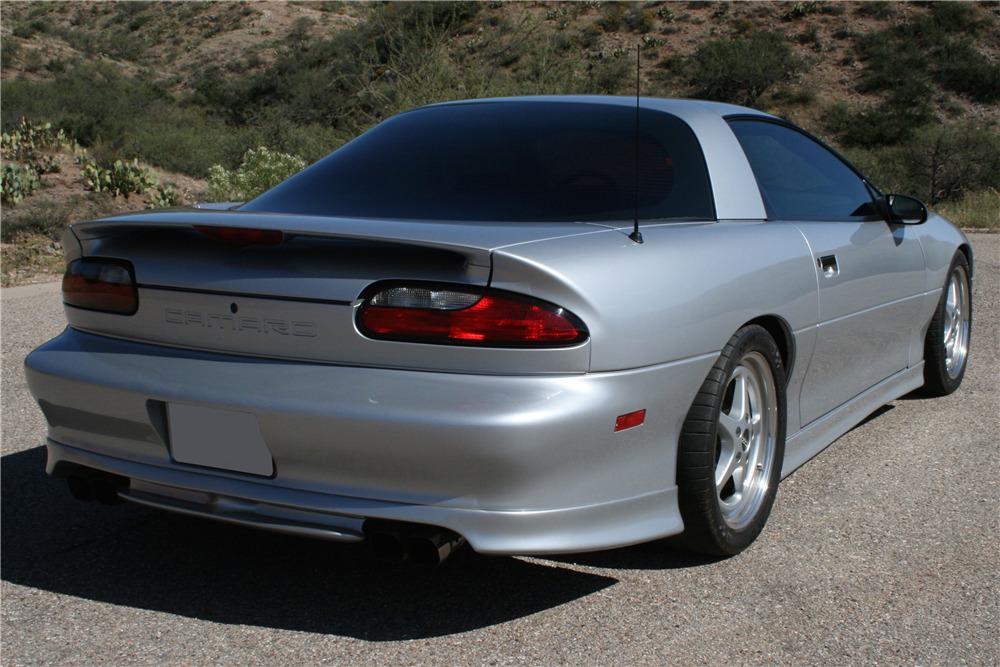 1995 Chevrolet Camaro Z 28 Custom Coupe Rear 3 4 200763
