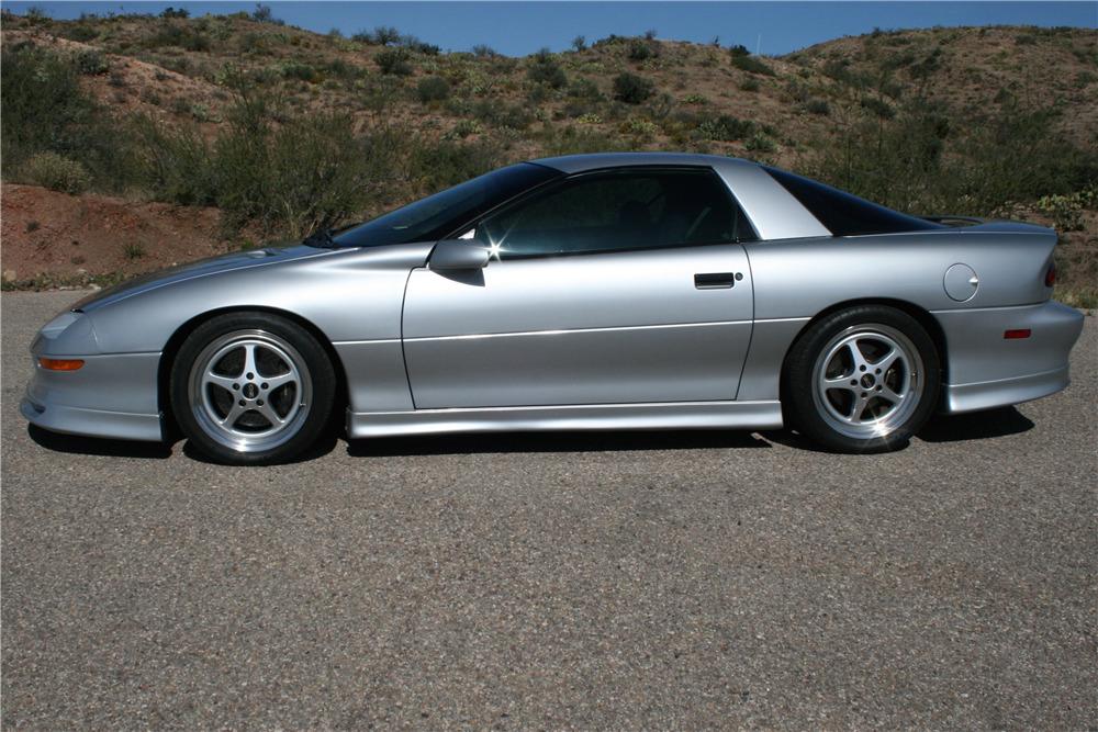 1995 Chevrolet Camaro Z 28 Custom Coupe Side Profile 200763