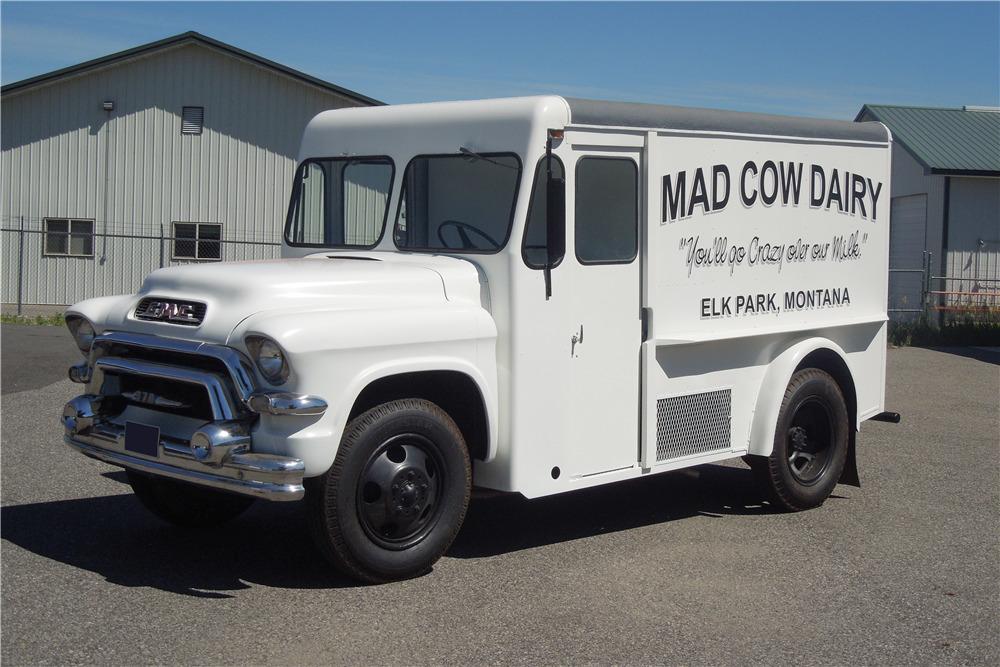 South Texas Gmc >> 1956 GMC CUSTOM MILK TRUCK