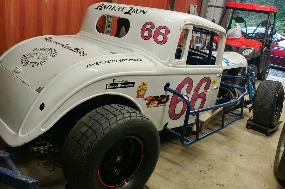 1933 PLYMOUTH SPIT-FIRE FLATHEAD RACE CAR -