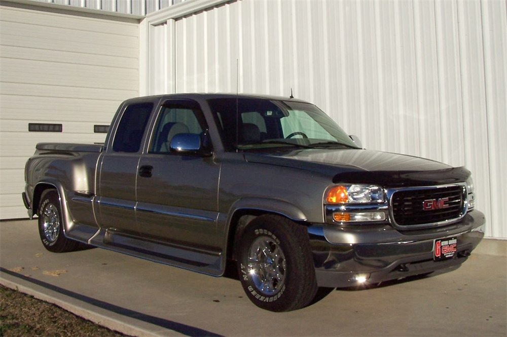 2002 gmc sierra 1500 extended cab pickup barrett jackson