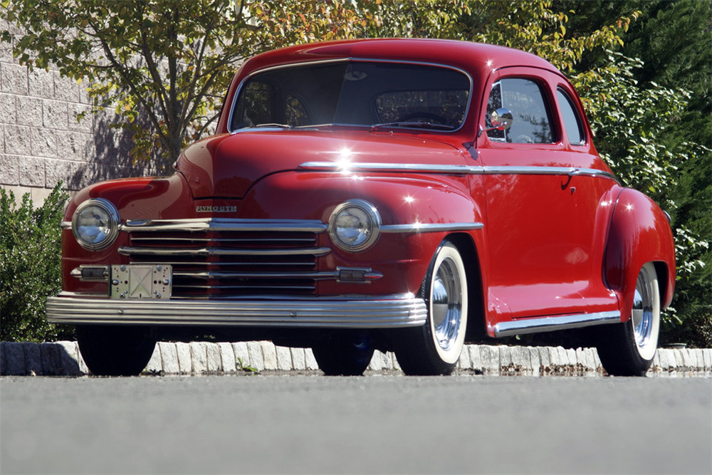 1948 PLYMOUTH SPECIAL DELUXE CUSTOM COUPE
