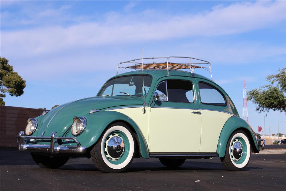 1964 Volkswagen Beetle Front 3 4 207032