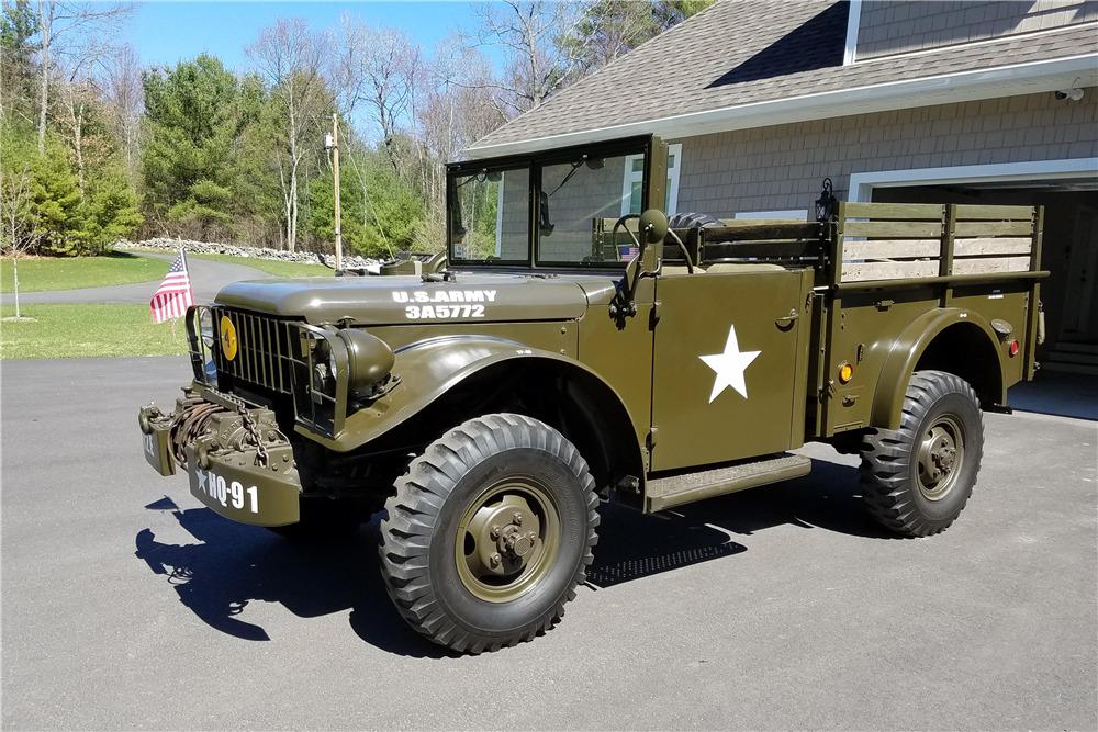 1952 DODGE M37 TRUCK
