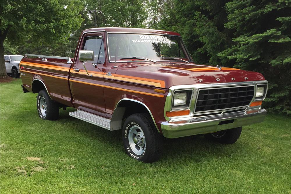 1978 Ford Truck >> 1978 Ford F 150 Ranger Explorer