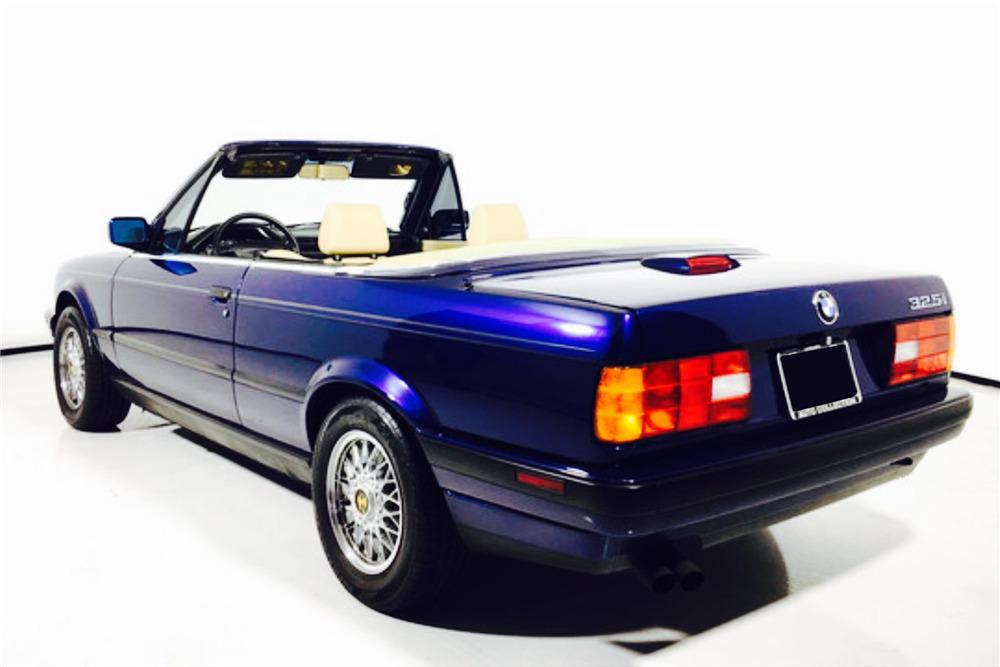 1992 bmw 325i convertible barrett jackson