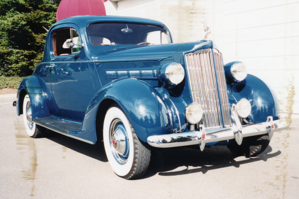 1937 PACKARD 115 3-WINDOW COUPE -