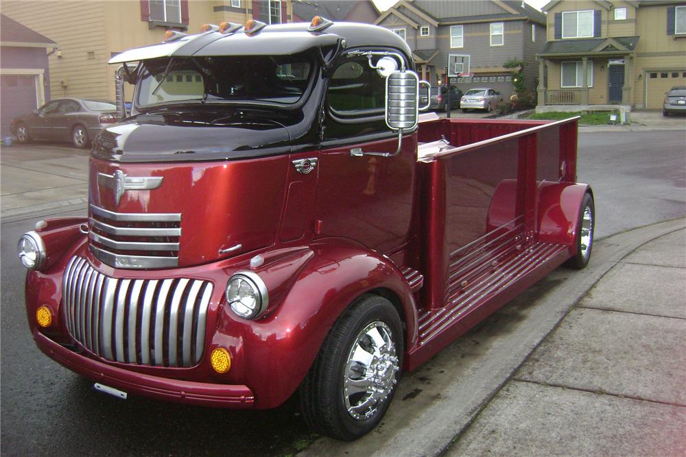 1946 CHEVROLET CUSTOM CAB-OVER TRUCK
