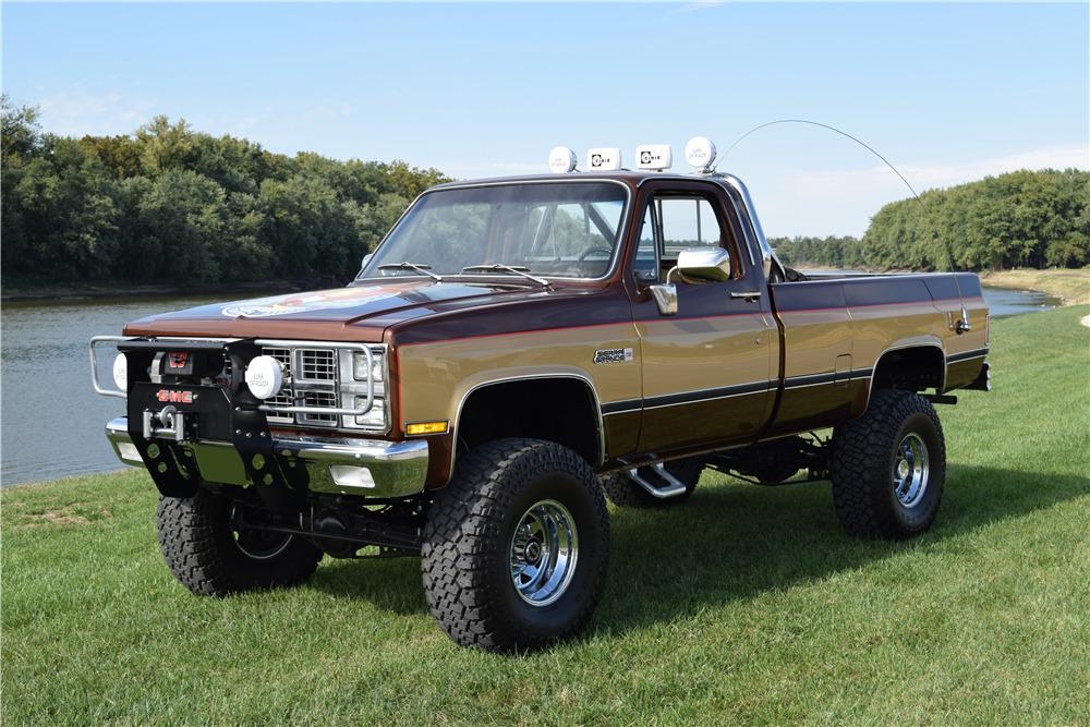 1984 Chevrolet K10 Custom 4x4 Pickup