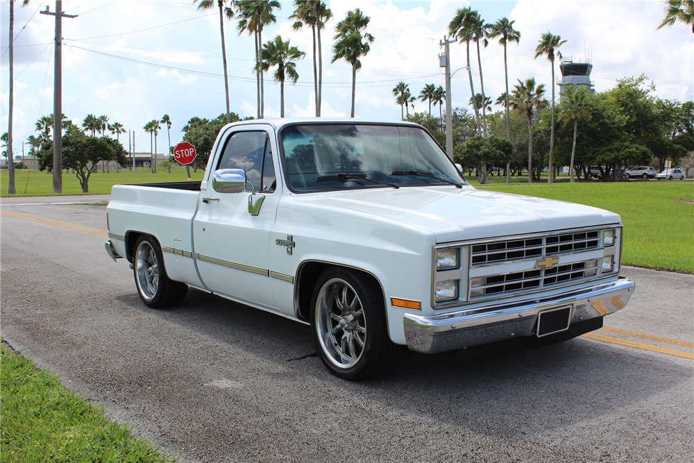 1987 chevrolet c10 silverado pickup