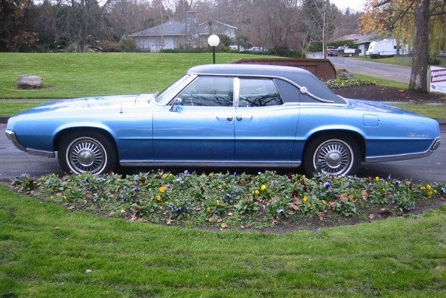 1967 Ford Thunderbird 4 Door Hardtop 21287 Sold At