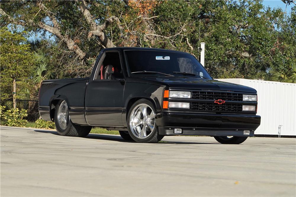 1990 Chevrolet Silverado Ss Custom Pickup