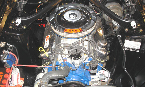 1969 FORD MUSTANG 302 BOSS RE-CREATION -