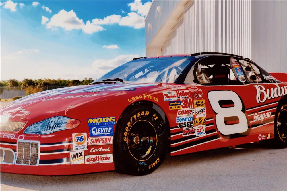 2001 CHEVROLET MONTE CARLO WINSTON CUP NASCAR RACE CAR