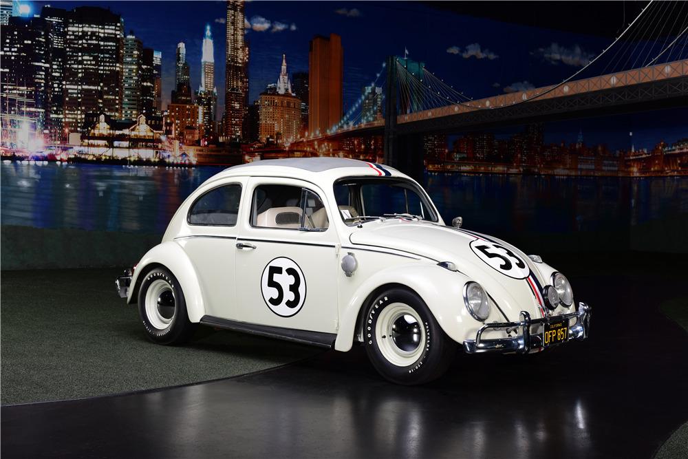 Car Auction Online >> 1963 VOLKSWAGEN BEETLE SUNROOF SEDAN 'HERBIE'