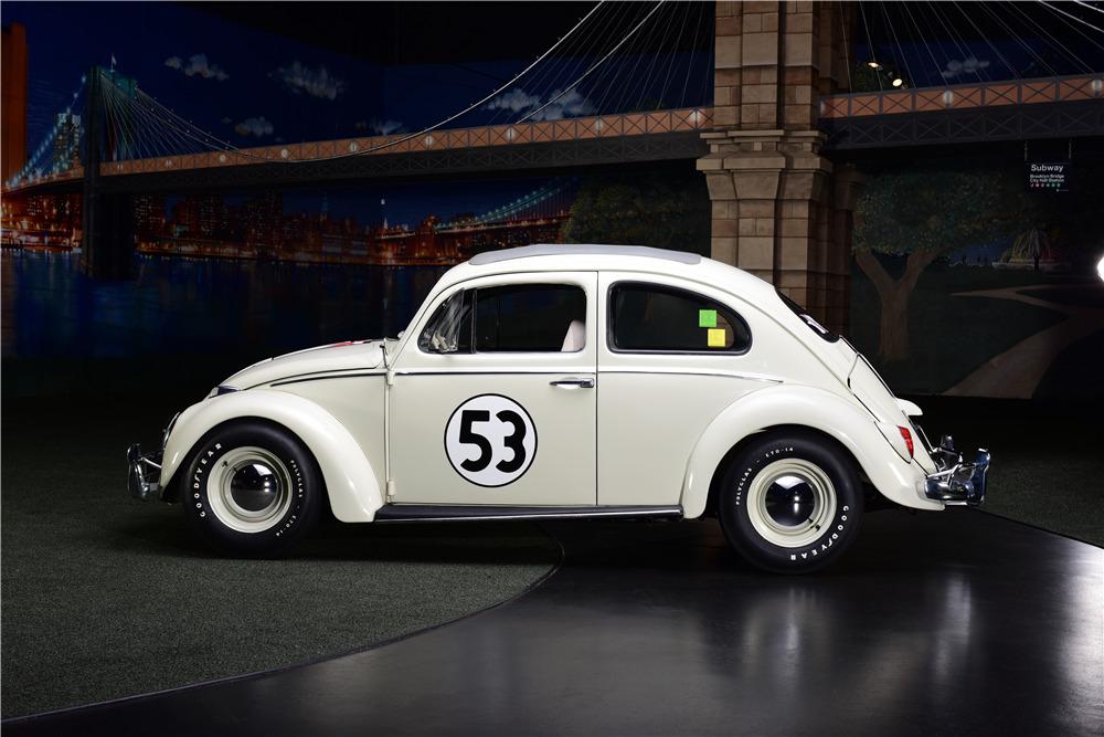 volkswagen beetle sunroof sedan herbie