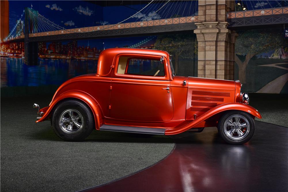 1932 ford 3 window custom coupe 217691. Black Bedroom Furniture Sets. Home Design Ideas