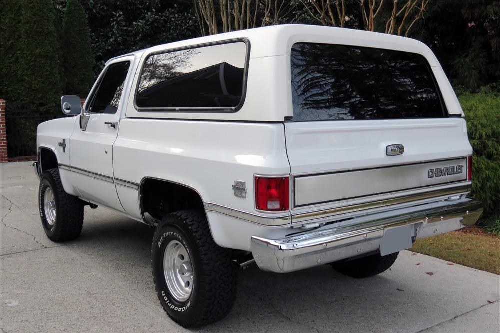 1985 CHEVROLET K10 BLAZER - 217777