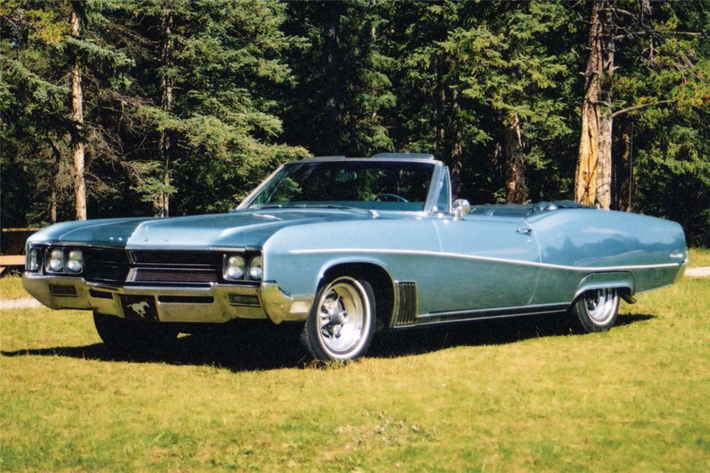 1967 BUICK WILDCAT 2 DOOR CONVERTIBLE -