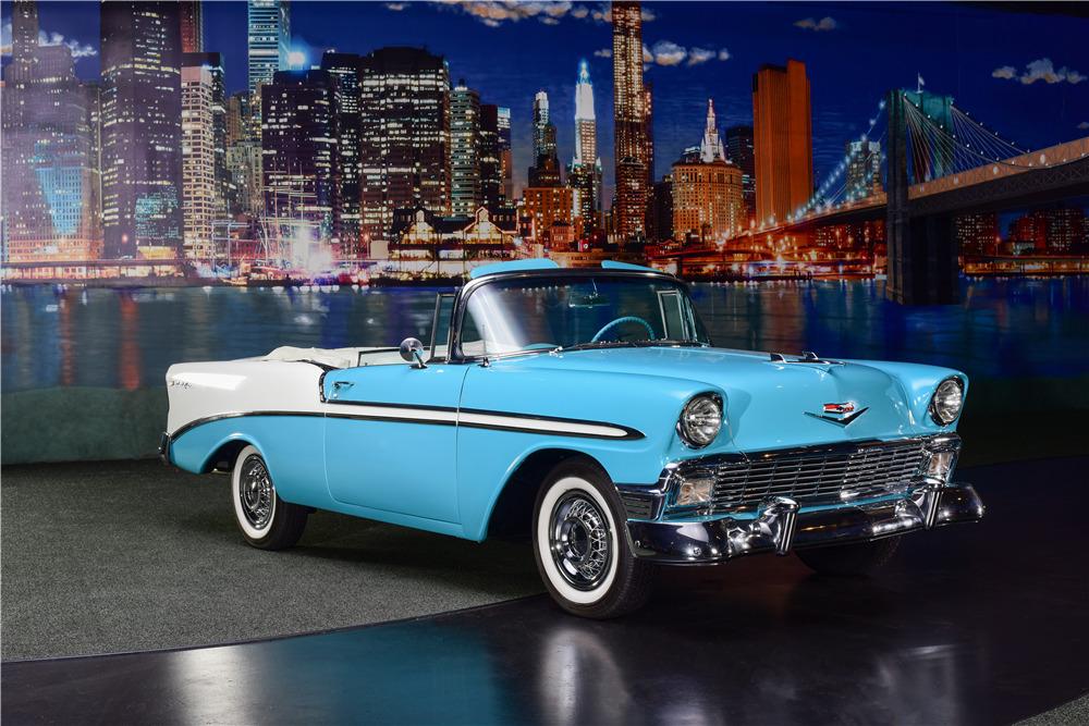 Super 1956 Chevrolet Bel Air Convertible Beutiful Home Inspiration Semekurdistantinfo