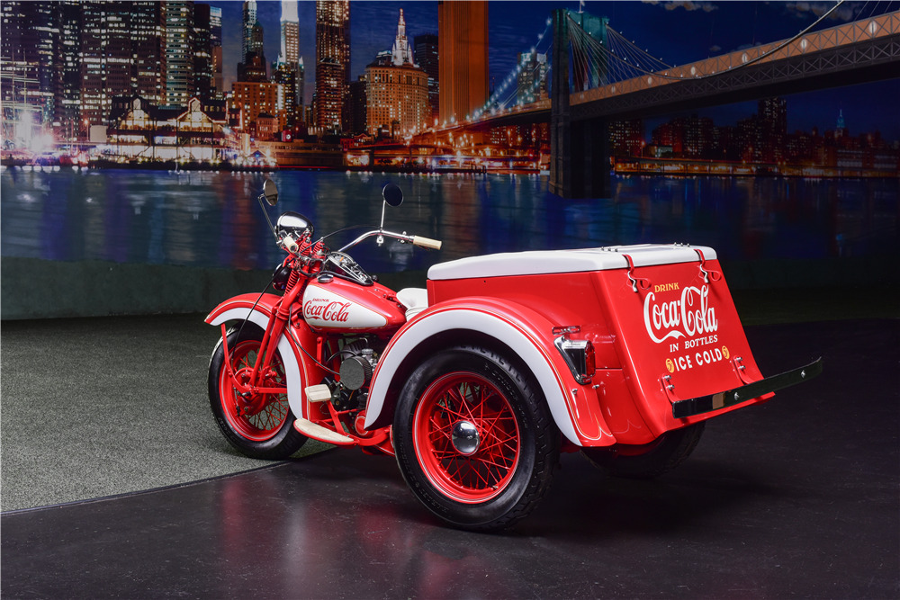 harley davidson custom coca cola trike