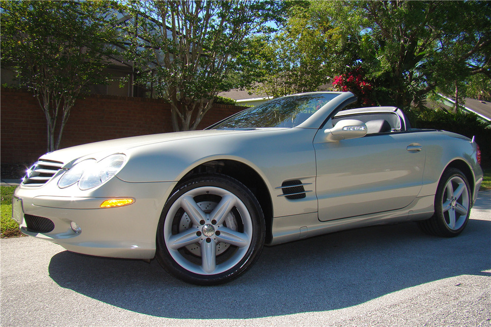 2003 mercedes benz sl500 roadster 217993 for Mercedes benz of palm beach staff