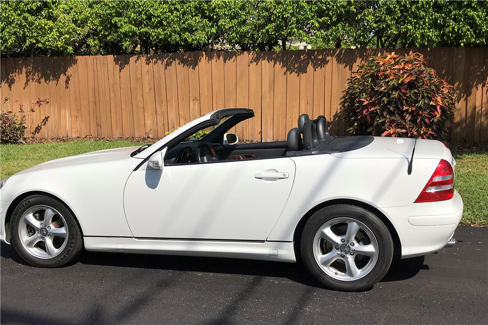 2001 mercedes benz slk320 roadster 218018 for 2001 mercedes benz slk320