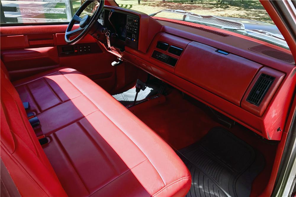 1988 gmc sierra 2500 interior