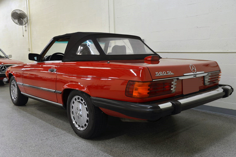 1988 mercedes benz 560sl roadster 218198 for Mercedes benz of palm beach staff