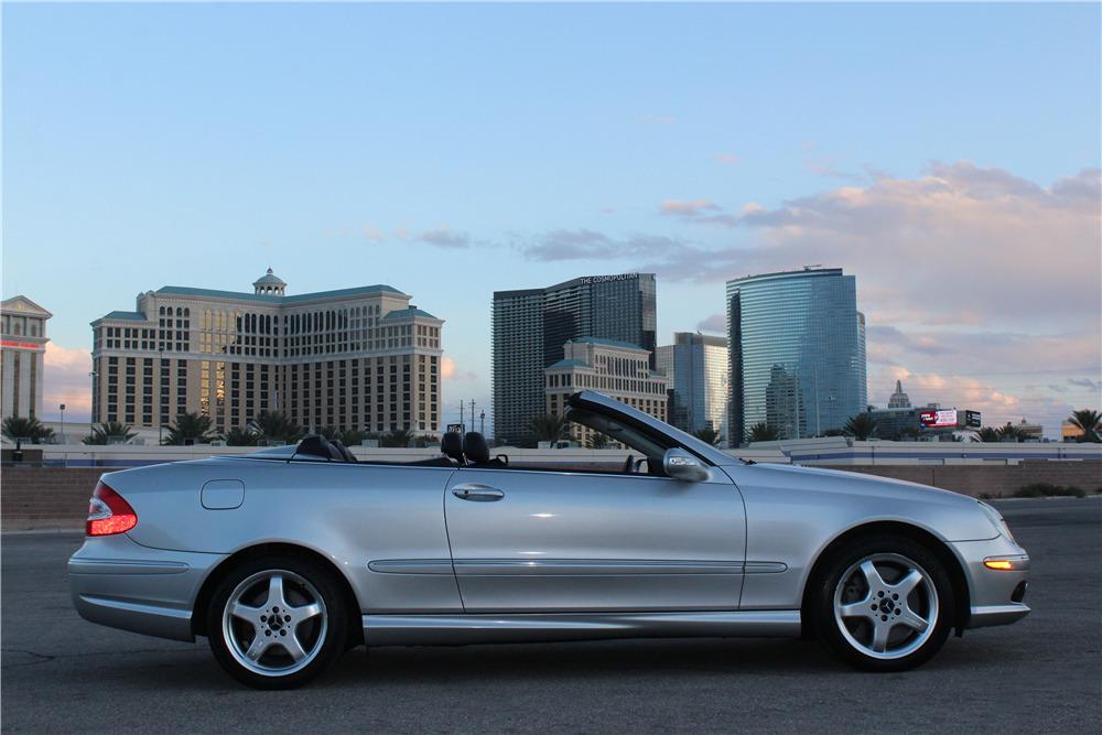 2004 mercedes benz clk500 cabriolet 218201. Black Bedroom Furniture Sets. Home Design Ideas