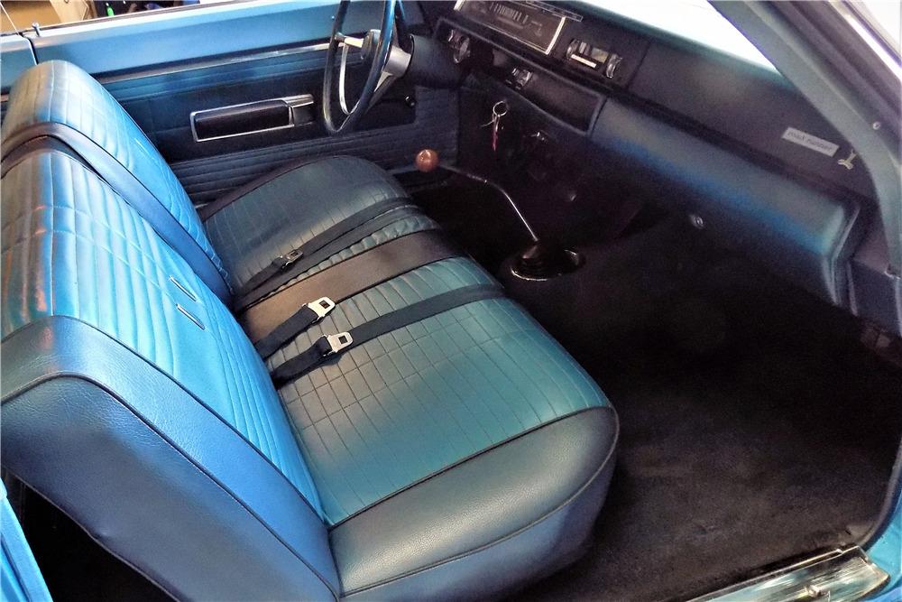 1968 PLYMOUTH ROAD RUNNER 2 DOOR SEDAN - 65852   1968 Plymouth Road Runner Interior