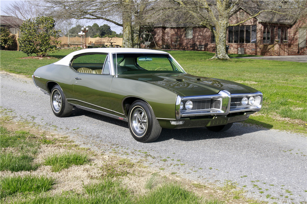 1968 pontiac lemans 2 door