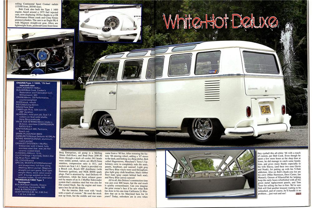 1966 VOLKSWAGEN 21-WINDOW CUSTOM MICROBUS
