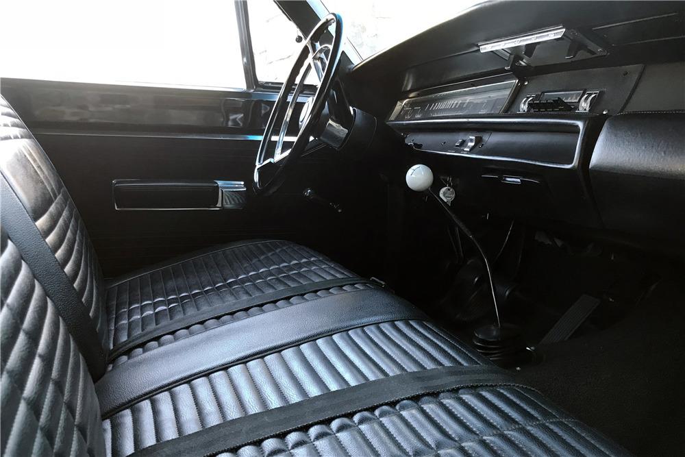 1968 PLYMOUTH ROAD RUNNER 2 DOOR POST - 116063   1968 Plymouth Road Runner Interior