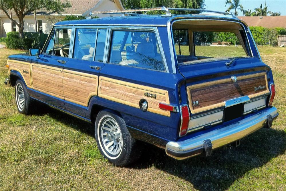 1989 jeep grand wagoneer 218358. Black Bedroom Furniture Sets. Home Design Ideas
