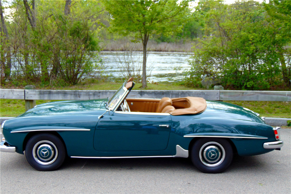 1961 mercedes benz 190sl roadster 218419 for 1961 mercedes benz