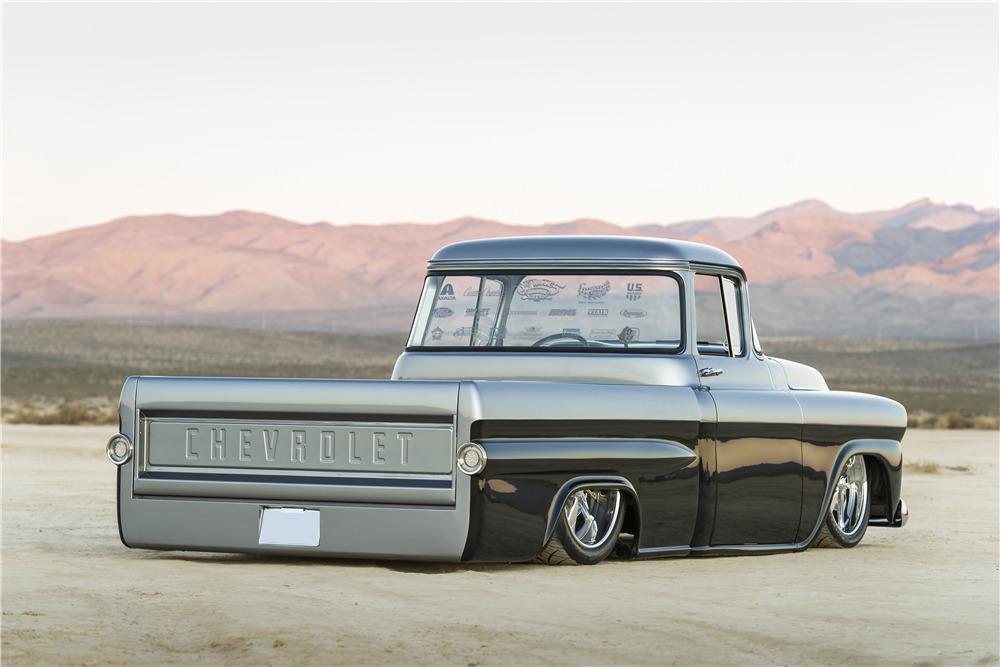 Tremendous 1958 Chevrolet Apache Custom Pickup Evergreenethics Interior Chair Design Evergreenethicsorg