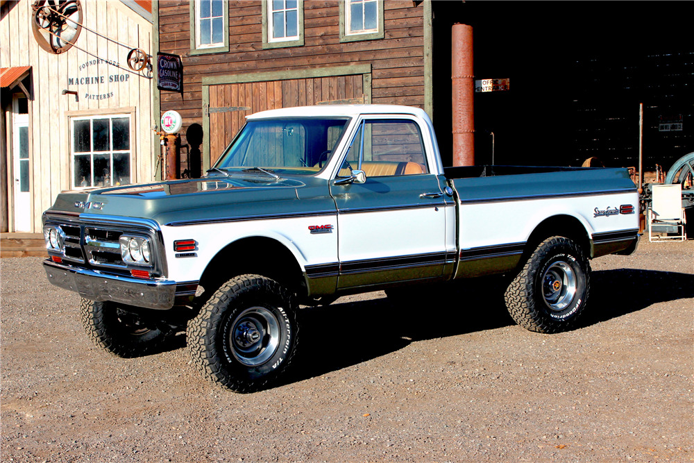 1972 Gmc Sierra Grande Custom Pickup220082 Sold At