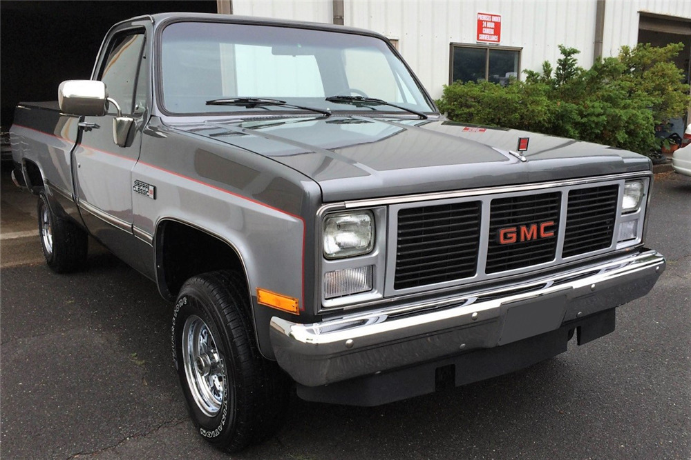1986 GMC SIERRA 1500 4X4 PICKUP