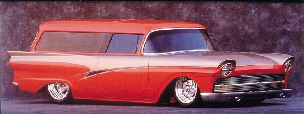 1957 FORD 'INTRUDER' CUSTOM WAGON -