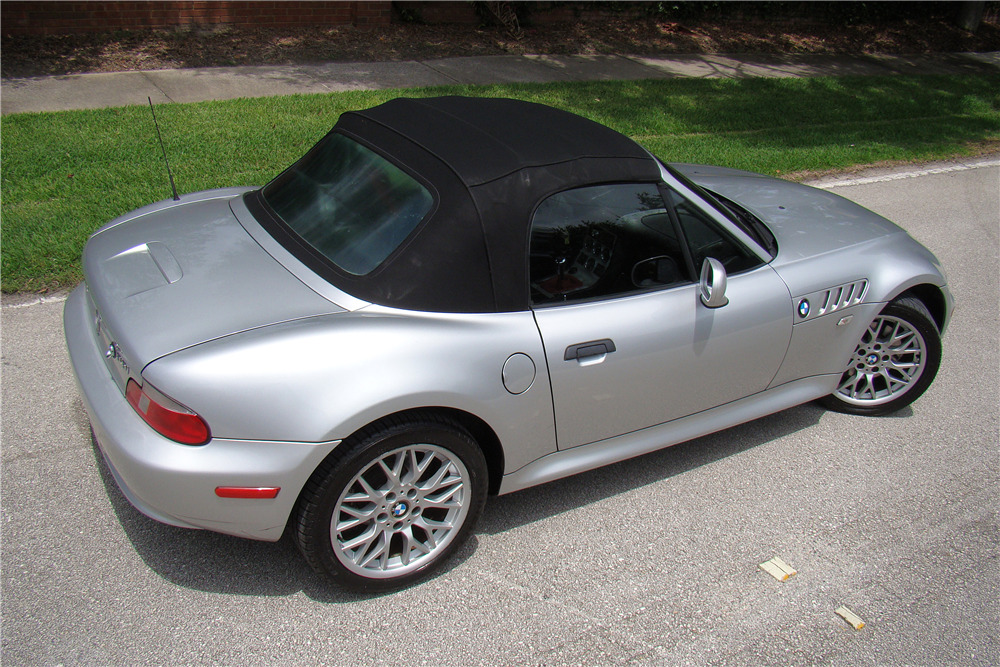2002 Bmw Z3 Roadster Rear 3 4 220599