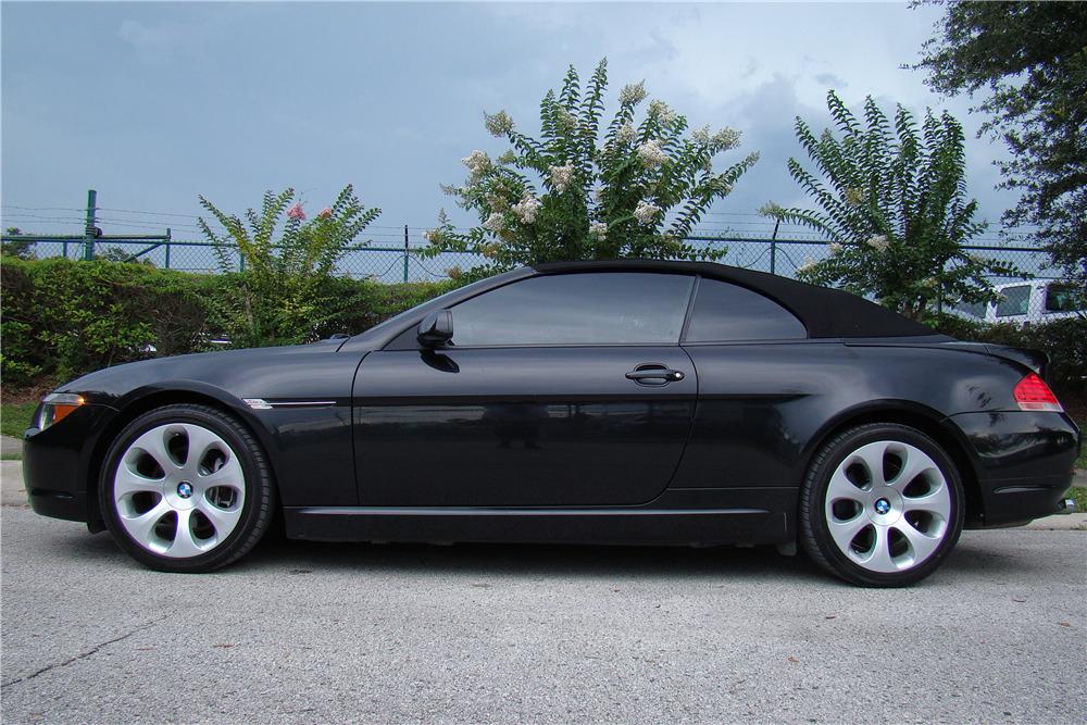 2004 BMW 645CI CONVERTIBLE221319