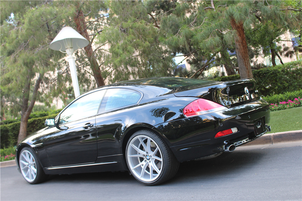 bmw650i coupe комплектации 2006 года