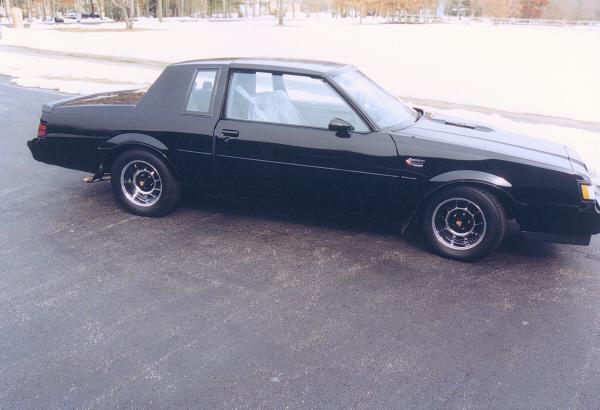 1986 Buick Regal Grand National 2 Door T Top 22172 Sold