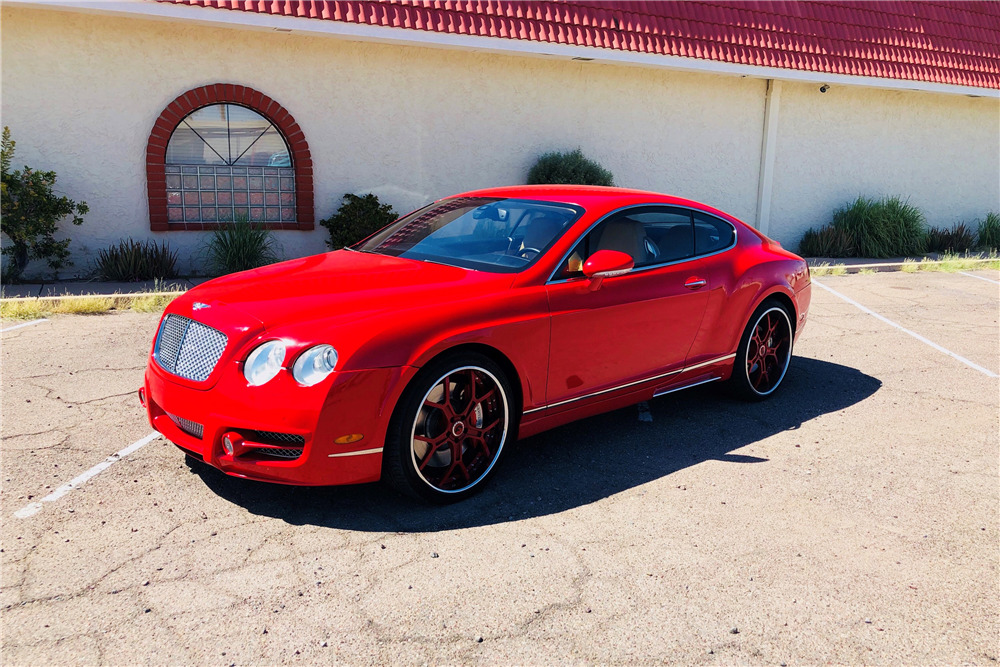 2005 Bentley Continental Gt Mansory Coupe