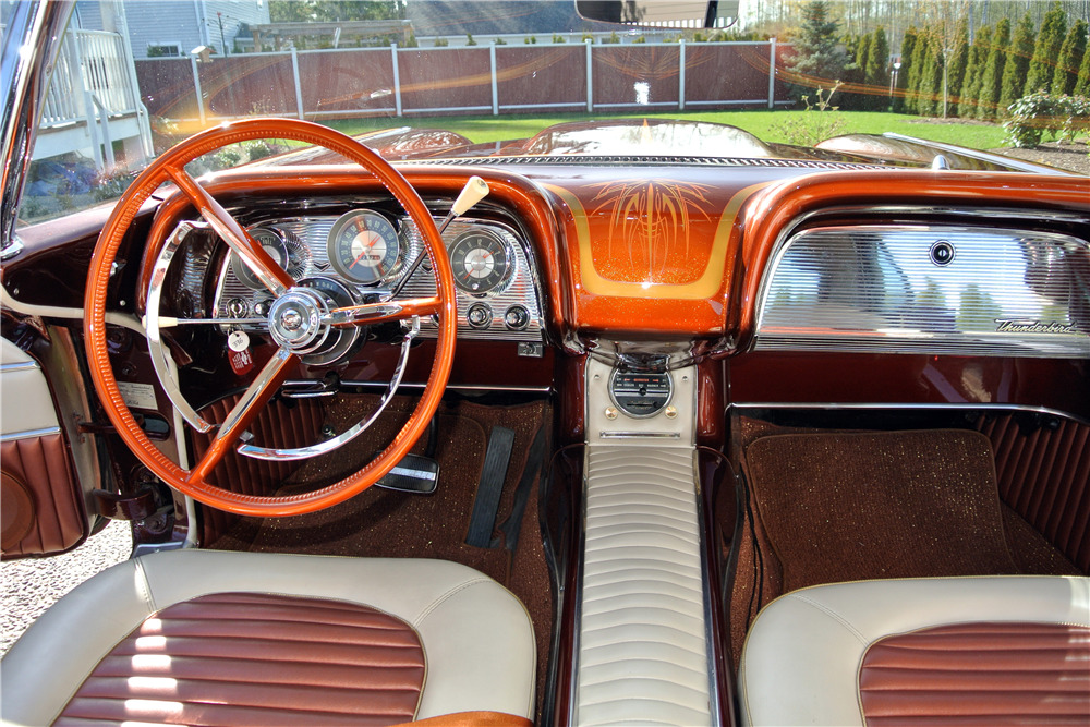 1958 Ford Thunderbird Custom Coupe Interior 222301