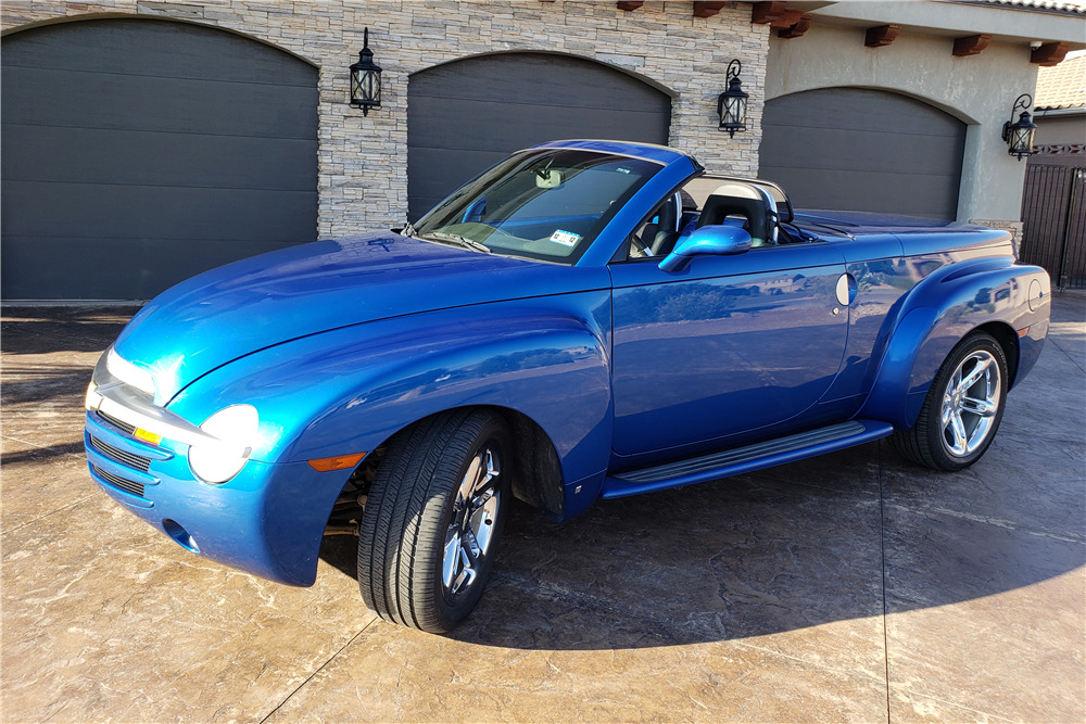 2006 CHEVROLET SSR CONVERTIBLE PICKUP