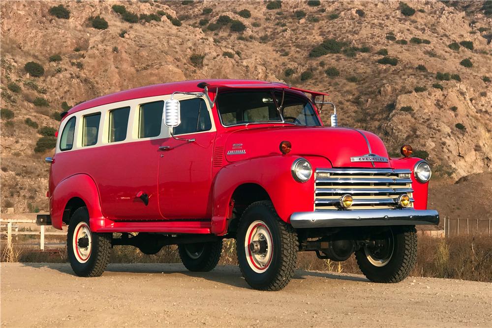 chevrolet  custom panel truck