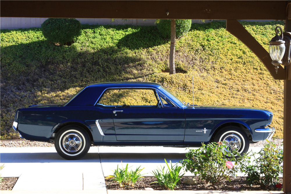 1965 FORD MUSTANG - FIRST PRE-PRODUCTION HARDTOP VIN 00002