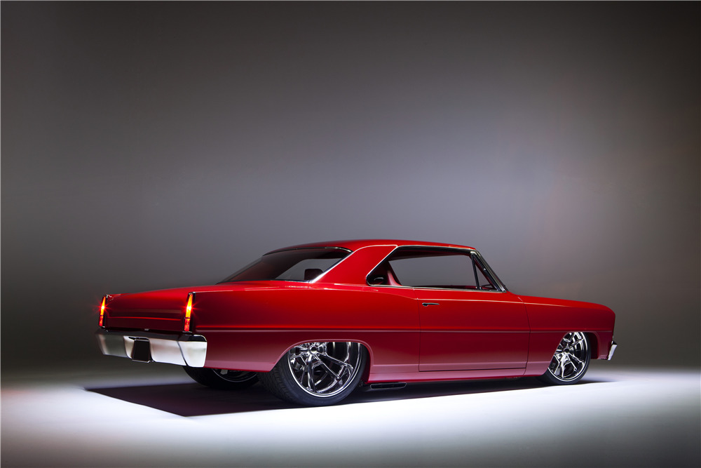 1966 CHEVROLET NOVA II SS CUSTOM COUPE